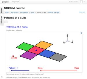 Tutorial:SCORM Package - GeoGebra Manual
